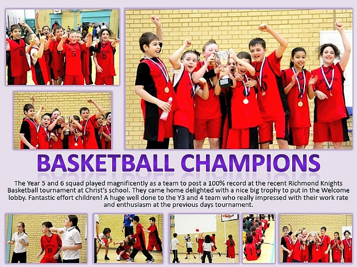Basketball Champions Photos
