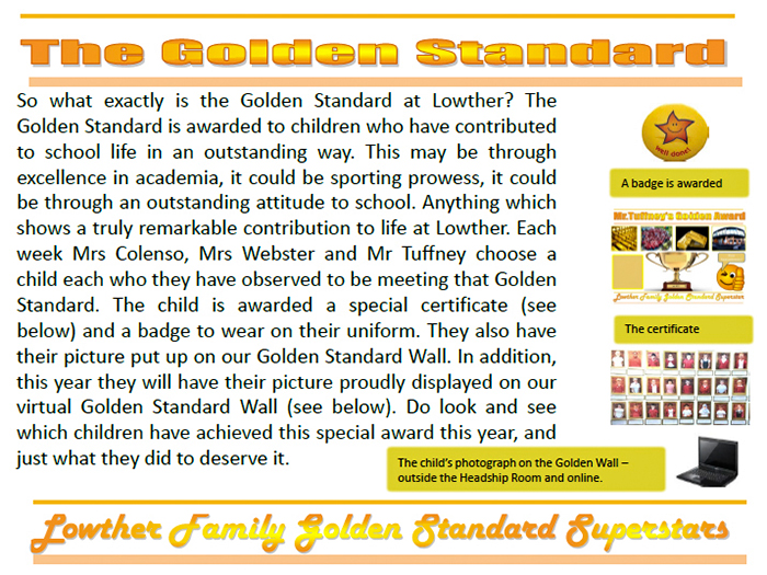 The Golden Standard Superstars
