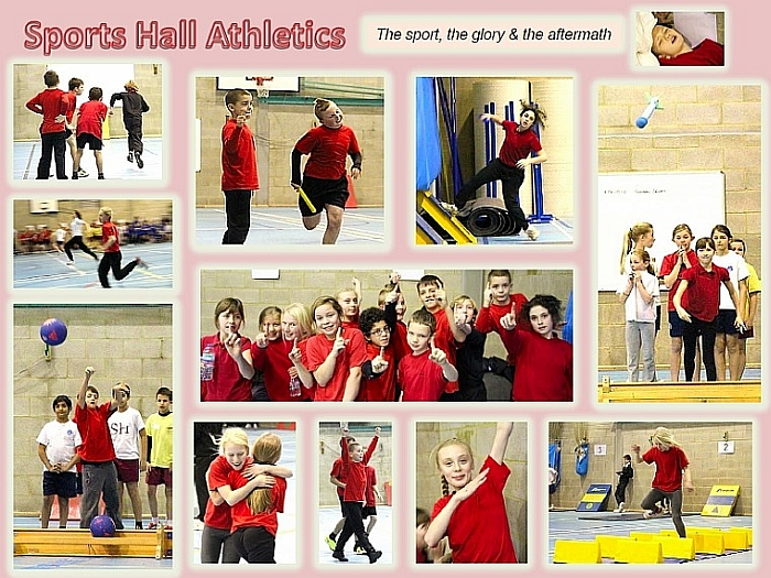 Sportshall Athletics Photos